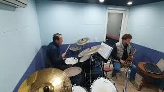 HP음악학원정모연습 두번째 문밖에 있는그대 드럼 김용태…
