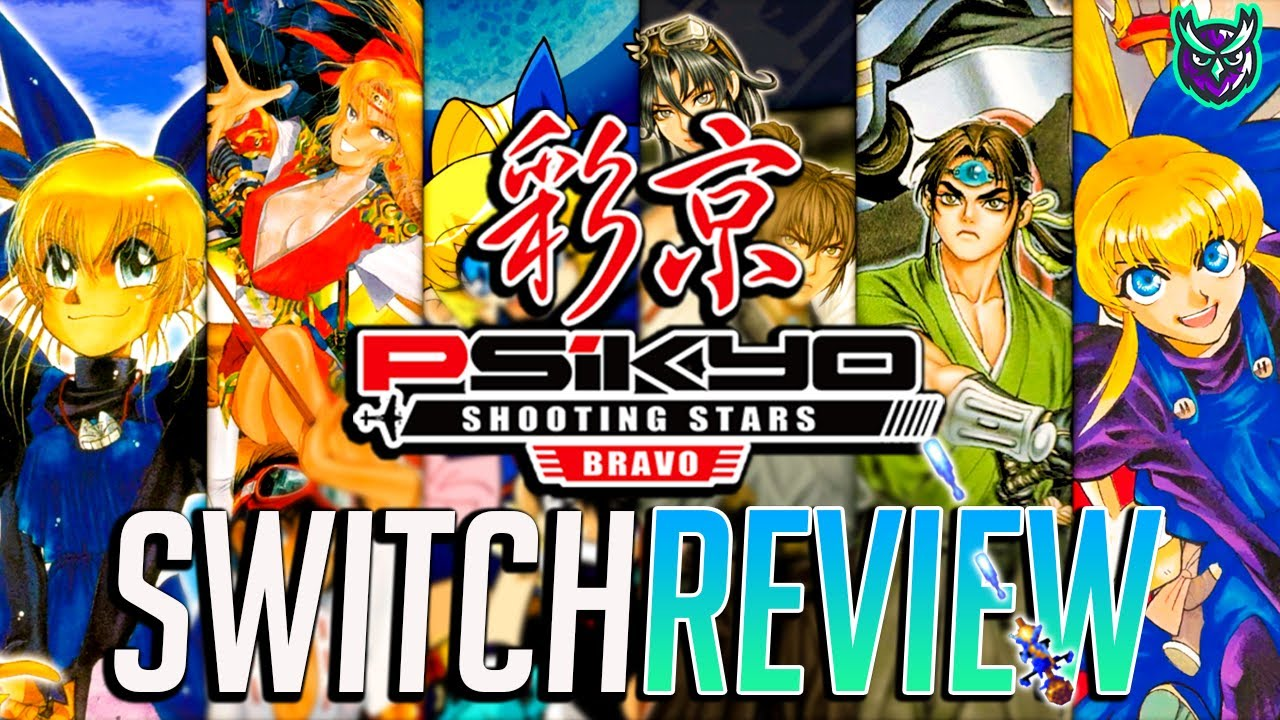 Psikyo Shooting Stars Bravo Review - Essential Shmup Collection? (Video Game Video Review)