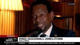 AmaZulu King Goodwill Zwelithini kaBhekuzulu celebrates his 71st bithday in London