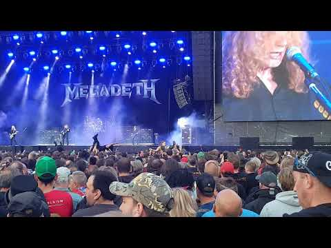 Megadeth - My Last Words Live from Graspop