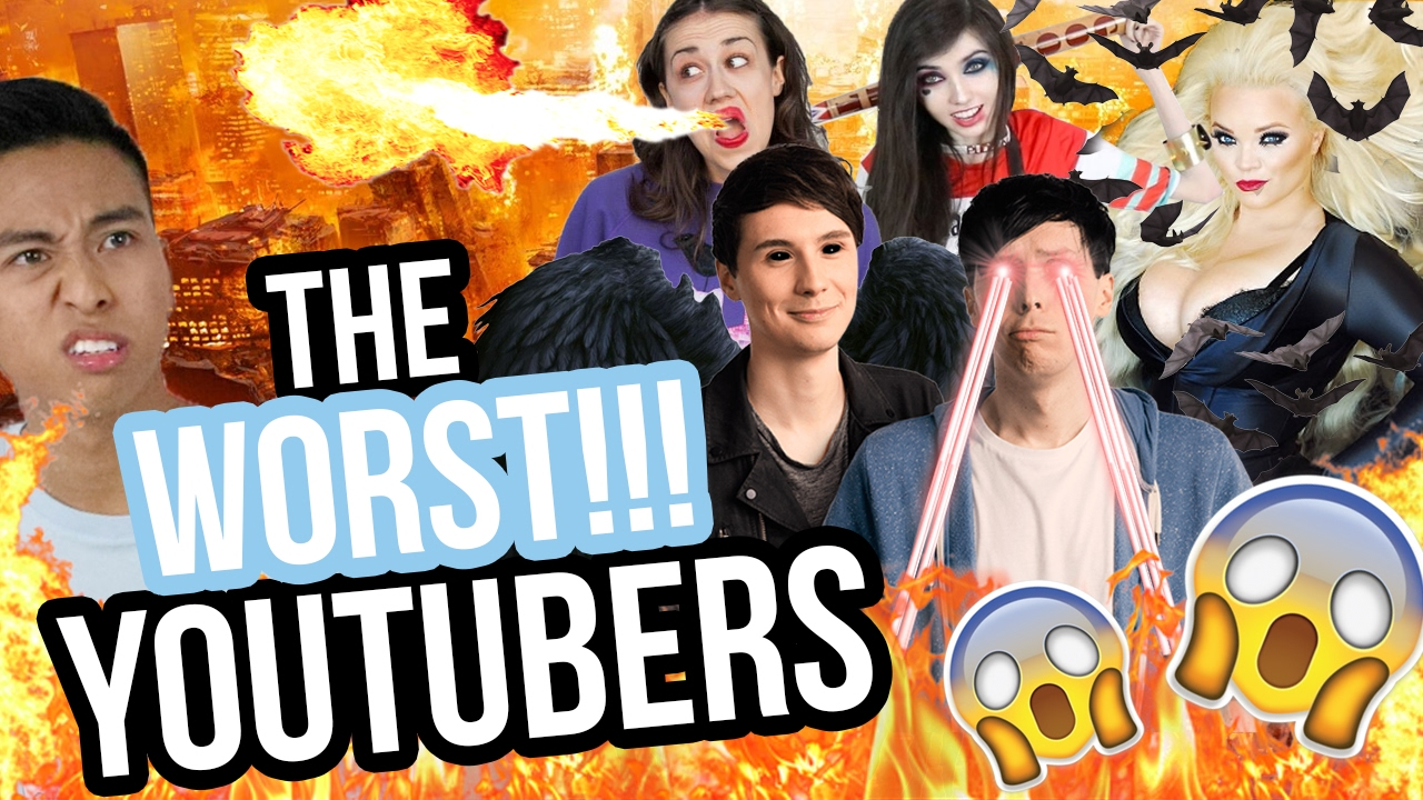 The WORST Youtubers & their Zodiac Signs?!?