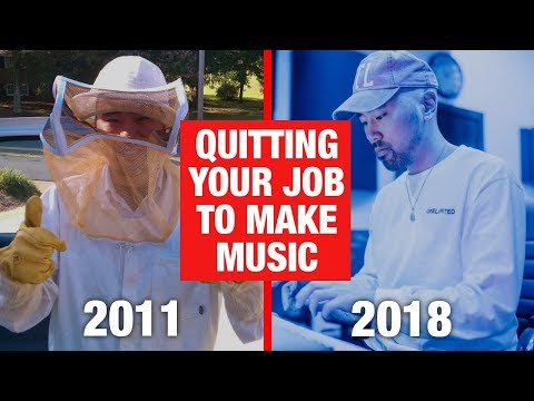 QUITTING Your Job To Make Music