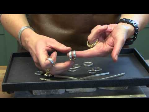 1300bd26b Make your own wedding rings | Rachel Jeffrey Jewellery - YouTube