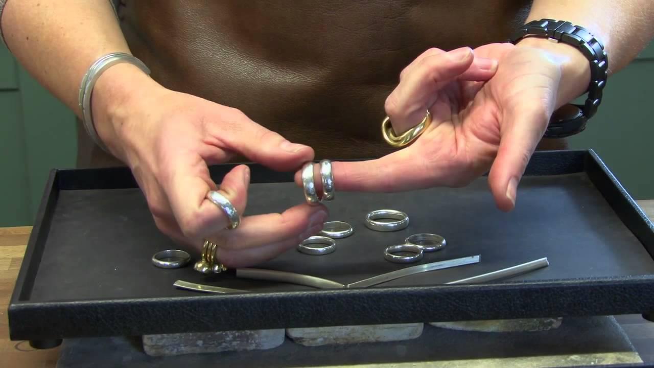 Make your own wedding rings Rachel Jeffrey Jewellery YouTube