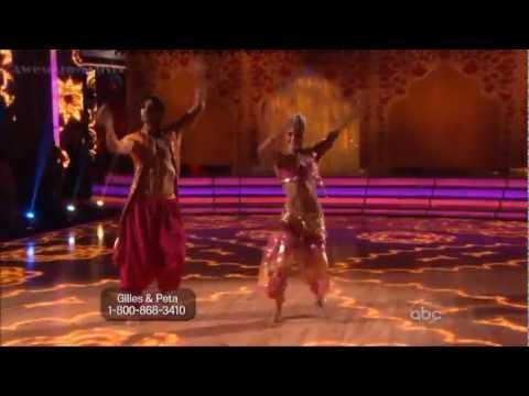 Gilles Marini and Peta  Bollywood  DWTS Allstars Week 4