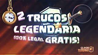 ¡¡ ACTUALIZACIÓN SEPTIEMBRE !! 2 TRUCAZOS 100% LEGALES CARTA LEGENDARIA  CLASH ROYALE