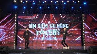 """Vietnam's Got Talent 2016 - TẬP 8 - Tiết mục Beatbox kết hợp Dance """"xuất thần"""" - Nhóm Cùi Bắp"""