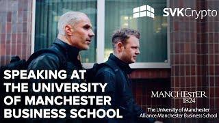 Keynote speech at The University of Manchester highlights