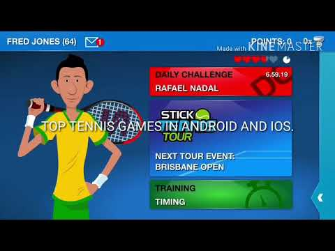 Top Tennis Games In Android And IOS.