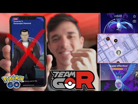 HOW TO FIND & BEAT GIOVANNI (THE EASY WAY) [Pokémon GO Team Rocket Takeover]
