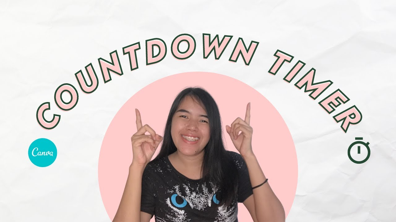 Download HOW TO MAKE COUNTDOWN TIMER USING CANVA VIDEO AND ELEMENTS😀