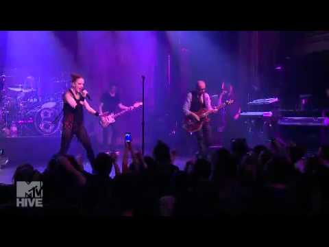Garbage Live in NYC Webster Hall 22-05-2012 Not your kind of people