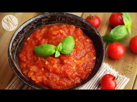 1 Minute Recipe | Easy Marinara Sauce