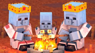 Alien & Villager Life: FULL ANIMATION - Minecraft Animation