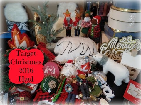 huge target christmas 2016 haul home decor ornaments more