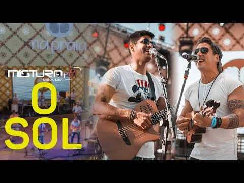 O SOL Vitor Kley MISTURA 61 - ao vivo no NA PRAIA 2018 - cover * Pagode