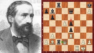 Amazing Immortal Chess Game!: Johannes Zukertort