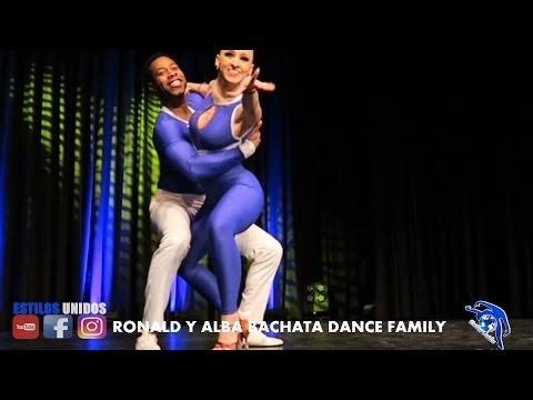RONALD Y ALBA ➤FRANKFURT FESTIVAL ➤CHOREOGRAPHY BACHATA DANCE FAMILY 2017