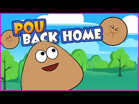 POU BACK HOME Level 1-24 Walkthrough