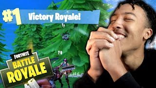 MY 1ST FORTNITE MOBILE WIN!! *EMOTIONAL* (BEST FORTNITE MOBILE SETTINGS?)