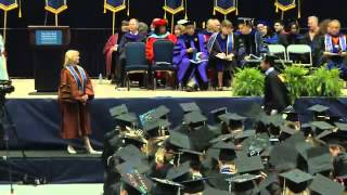 George Washington University School of Business Commencement 2013