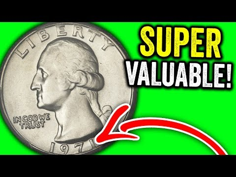 SUPER RARE 1971 QUARTERS WORTH MONEY - VALUABLE MODERN COINS TO LOOK FOR!!