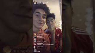 Chance Perez Instagram Live (08.13.17) ABC Boy Band