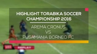 Video Gol Pertandingan Arema U21 vs Pusamania Borneo FC