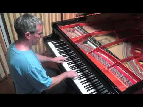 'Badinerie' Bach - Solo Piano - Paul Barton, FEURICH 218 grand piano