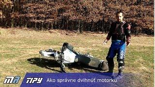 MR Tipy - Ako správne dvihnúť motorku - motoride.sk