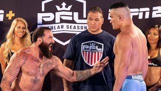 PFL 3 | 2019 Weigh-in | Professional Fighters League 2019
