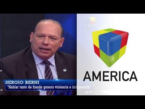 """Berni: """"Macri habla de Narcotráfico y no puede con los manteros de Constitución"""""""