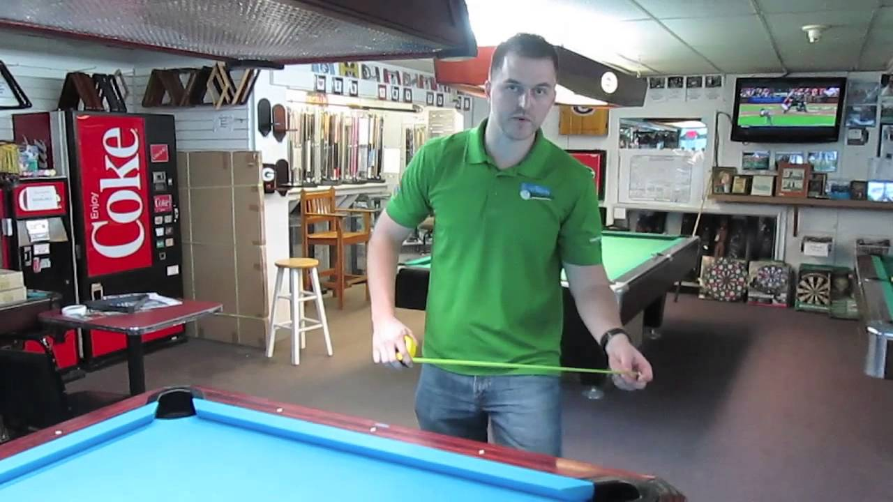 How To Measure A Pool Table YouTube - How to measure a pool table