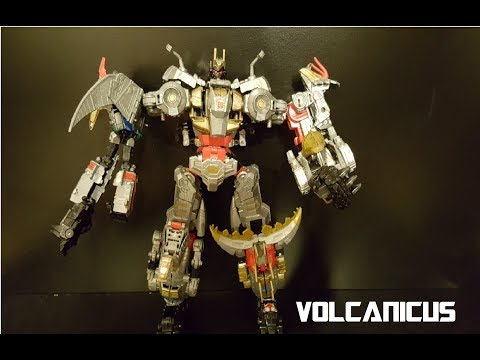 Transformers- Power of the Primes: Combiner Dinobot Volcanicus review