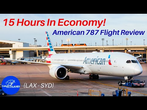 American Long-Haul Economy: DOES IT SUCK? American Airlines Flight Review — LAX To SYD