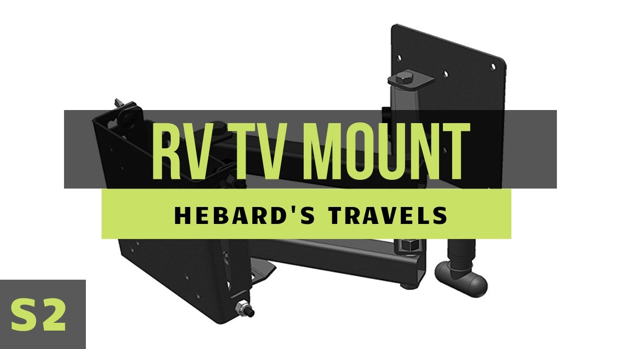 small resolution of rv nomad life morryde extending swivel wall tv mount install