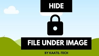 HIDE FILE BEHIND PICTURES | HIDE ANY SECRET FILES | 100% SATISFACTORY RESULT | SECRET FILES HIDE