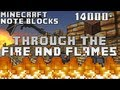 Minecraft Note Blocks: Dragonforce - Through the Fire and Flames