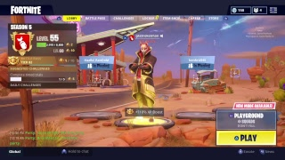 Fortnite battle royale/ grinding battle pass to mas tier/ giveaway at 500 subs
