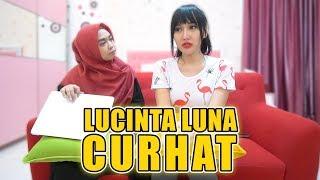 Download Video CURAHAN HATI LUCINTA LUNA. SAMPAI NANGIS😭 MP3 3GP MP4