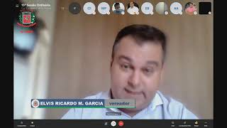 15ª Sessão Ordinária (virtual) dia 10/08/2020
