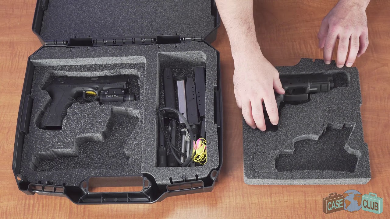 Case Club 4 Pistol Accessory Carry Case - Overview - Video