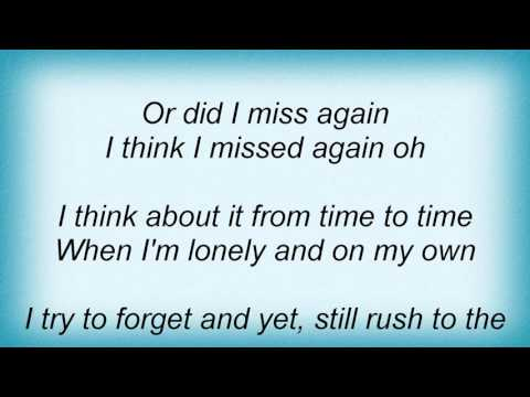 17942 Phil Collins - I Missed Again Lyrics