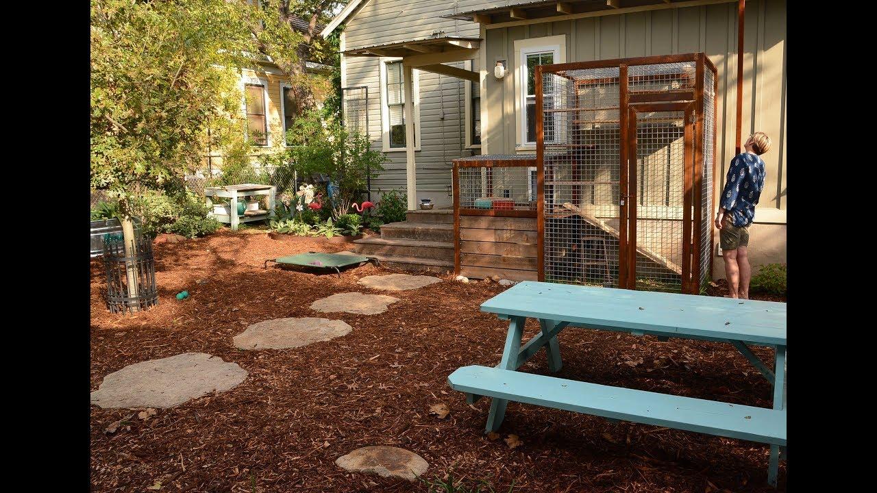 Catio, Garden for Dogs, Small Space Modern Design |Briana Miriani ...