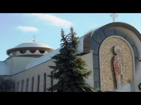 Construction of St. Nicholas Greek Orthodox Church in Oak Lawn.Il 1966-1974