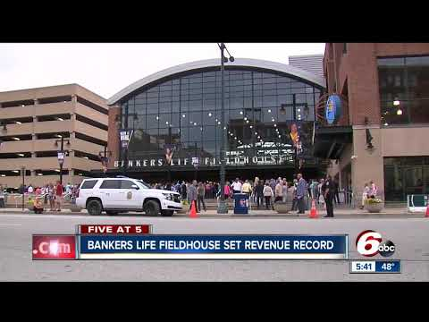 Revenue record set for Bankers Life Fieldhouse