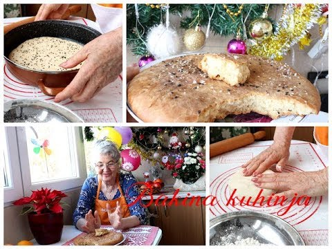 Bakina kuhinja  -pogača za 20 min mekana kao bikvit