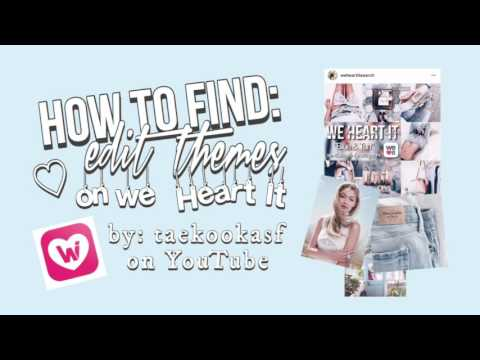 [ tutorial ] how to find theme pictures | weheartit