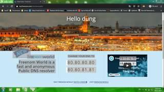 Hướng dẫn trỏ domain freenom về hosting inet