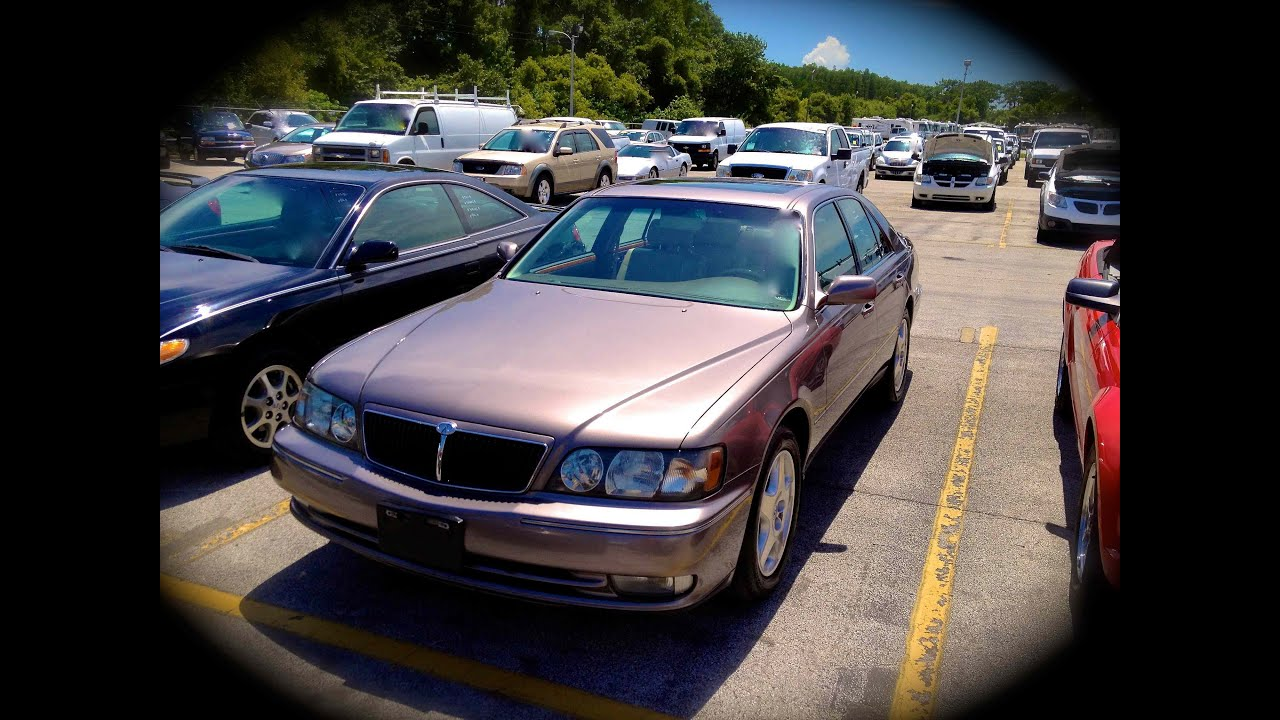 2000 infiniti q45 anniversary edition start up quick tour rev with exhaust view 123k youtube